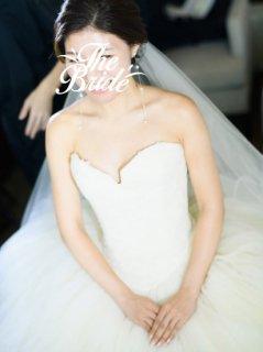 【Used 60%OFF】 Vera Wang 12709 (ヴェラウォン ケイトハドソン版バレリーナドレス) US2 <丈カットあり>