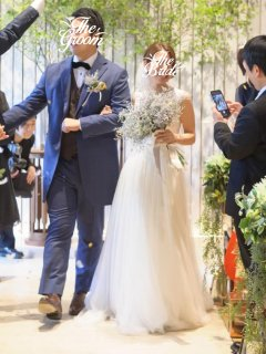 <img class='new_mark_img1' src='https://img.shop-pro.jp/img/new/icons14.gif' style='border:none;display:inline;margin:0px;padding:0px;width:auto;' />【Used 51%OFF】 Pronovias MIRAMAR(プロノビアス スレンダードレス)UK0 ※丈カットあり
