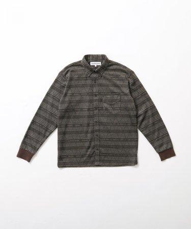先染めニットシャツ Men's