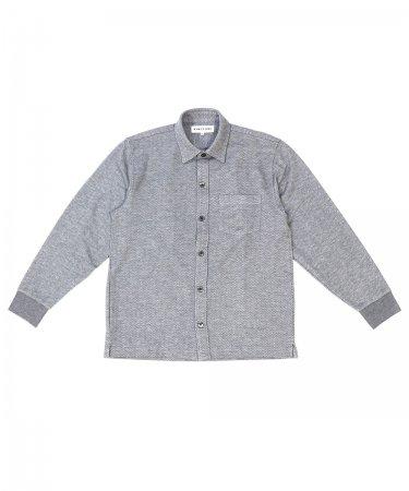 先染めニットシャツ【紳士】