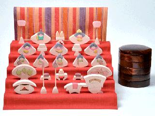 円雛五段飾り 小 桜