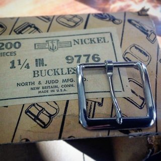 Vintage<BR>NORTH & JUDD buckle<BR>dead stock