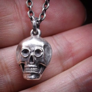 M&W works<BR>skull charm<BR>silver925