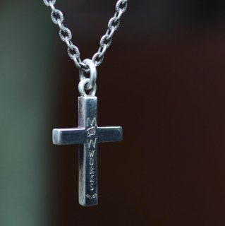 M&W works<BR>cross charm<BR>silver925