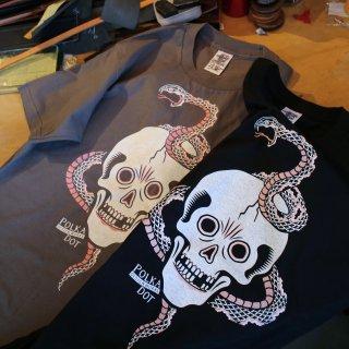 skull & snake Tshirt