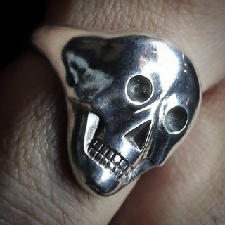 M&W works<BR>skull ring<BR>silver925