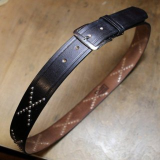 The WILD ONE BELT<BR>Studs model narrow