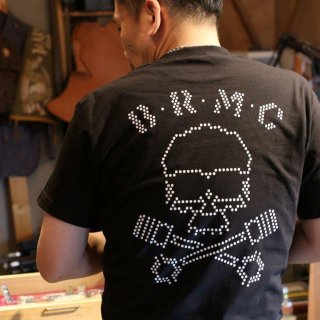 "THE WILD ONE B.R.M.C Tshirt<BR>""NEON DOT"""