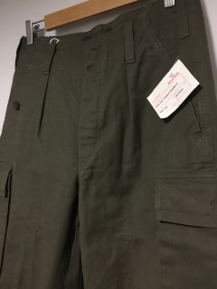 '85  Deadstock German Military Moleskin Cargo Pantsドイツ軍 モールスキンカーゴ