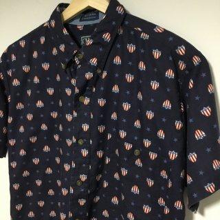 90s チャップス ラルフローレン BDシャツ アメリカンフラッグ