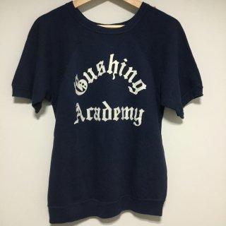 "60s〜70s  S / S スエット ""Bushing Academy "" フロッキープリント"