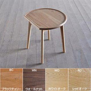 国産テーブル ユーロ サイドテーブル シキファニチア 無垢材オーダー家具