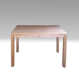 国産デスク 木と風 角脚デスク メープル材 / ウォールナット材 杉工場 国産家具