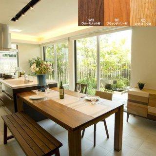 リーヴス ダイニングテーブル 無垢材 レグナテック 国産家具 注文家具 無垢材オーダーテーブル
