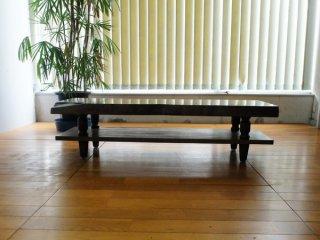 クス 楠 一枚板 120テレビボード 国産高級伝統工芸 ロクロ家具【開梱・設置無料】