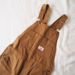 ROUND HOUSE ラウンドハウス オーバーオール #83 DOUBLE KNEE BIB OVERALLS/BROWN DUCK