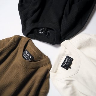 FILSON フィルソン ヘヴィウェイトサーマル長袖シャツ WAFFLE KNIT THERMAL CREW-NECK SHIRT/3カラー<img class='new_mark_img2' src='https://img.shop-pro.jp/img/new/icons13.gif' style='border:none;display:inline;margin:0px;padding:0px;width:auto;' />