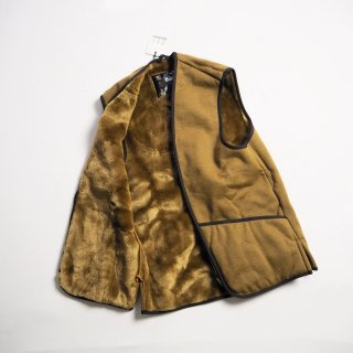 Barbour バブアー ジップインライナー WARM PILE WAISTCOAT ZIP-IN LINER/BROWN<img class='new_mark_img2' src='https://img.shop-pro.jp/img/new/icons13.gif' style='border:none;display:inline;margin:0px;padding:0px;width:auto;' />