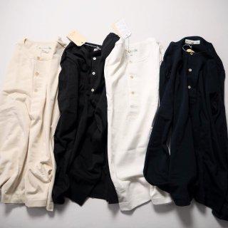 Merz b. Schwanen メルツベーシュヴァーネン 長袖ヘンリーネックTシャツ #206/3カラー