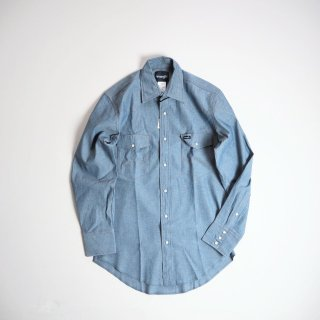 Wrangler ラングラー  シャンブレーウエスタンシャツ 70136MW / CHAMBRAY<img class='new_mark_img2' src='https://img.shop-pro.jp/img/new/icons13.gif' style='border:none;display:inline;margin:0px;padding:0px;width:auto;' />