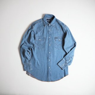 Wrangler ラングラー  デニムウエスタンシャツ ストーンウォッシュ 70127SW / STONE WASH<img class='new_mark_img2' src='https://img.shop-pro.jp/img/new/icons13.gif' style='border:none;display:inline;margin:0px;padding:0px;width:auto;' />