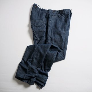 Manufactures & Co. マニュファクチャーズ・アンドコー デニムワークトラウザー WORKERS TROUSERS