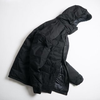 CRESCENT DOWN WORKS クレセントダウンワークス ダウンジャケット DOWN ARCTIC MONTAGNE PARKA / BLACKxBLACK<img class='new_mark_img2' src='https://img.shop-pro.jp/img/new/icons13.gif' style='border:none;display:inline;margin:0px;padding:0px;width:auto;' />