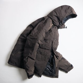 CRESCENT DOWN WORKS クレセントダウンワークス ダウンジャケット DOWN ARCTIC MONTAGNE PARKA / BROWNxBLACK<img class='new_mark_img2' src='https://img.shop-pro.jp/img/new/icons13.gif' style='border:none;display:inline;margin:0px;padding:0px;width:auto;' />
