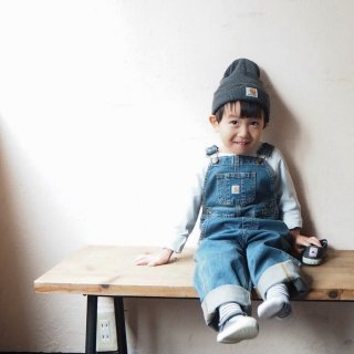 CARHARTT KIDS カーハート キッズ デニム オーバーオール #CM8665 OVERALL 幼児サイズ /  MEDIUM WASH DENIM<img class='new_mark_img2' src='https://img.shop-pro.jp/img/new/icons13.gif' style='border:none;display:inline;margin:0px;padding:0px;width:auto;' />