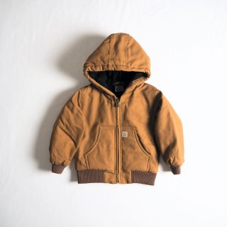 CARHARTT KIDS カーハート キッズ アウター アクティブジャケット ACTIVE JAC #CP8430 幼児サイズ /  CARHARTT BROWN<img class='new_mark_img2' src='https://img.shop-pro.jp/img/new/icons13.gif' style='border:none;display:inline;margin:0px;padding:0px;width:auto;' />