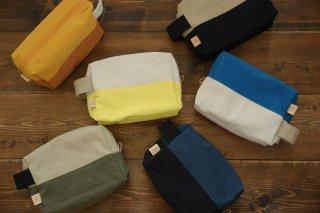 倉敷帆布*トラベルポーチ おむつポーチ(5色)