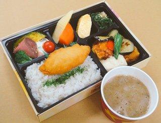 12種の野菜彩り幕ノ内弁当(とろろ付き)<お茶なし>