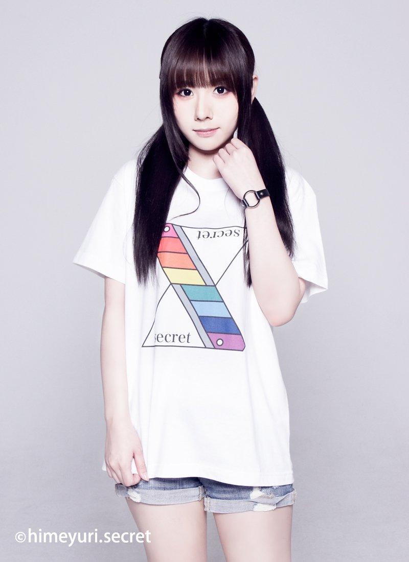 姫百合の秘密 -Tシャツ-(WHITE)
