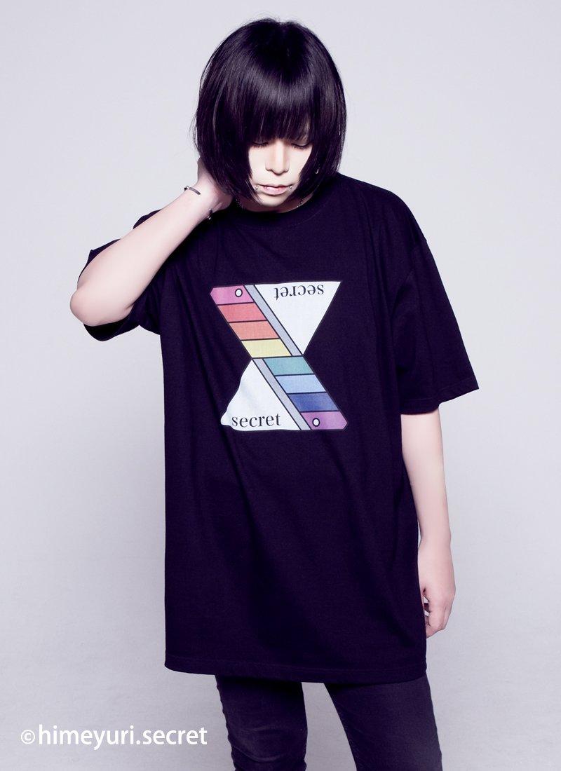 姫百合の秘密 -Tシャツ-(BLACK)