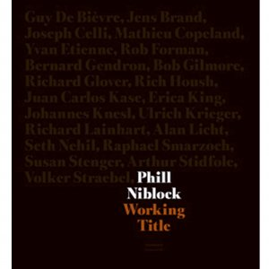Phill Niblock / Working Title (BOOK+2DVD)