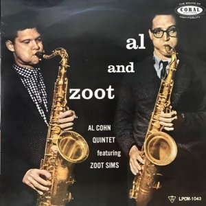 Al Cohn Quintet Featuring Zoot Sims / Al And Zoot (LP)