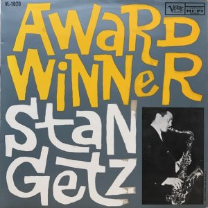 Stan Getz / Award Winner (LP)