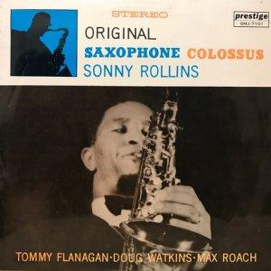 Sonny Rollins / Original Saxophone Colossus (LP)