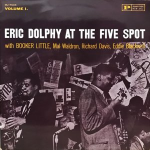 Eric Dolphy / At The Five Spot (LP)
