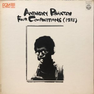 Anthony Braxton / Four Compositions (1973) (LP)