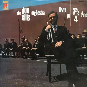 Don Ellis Orchestra / Live In 3⅔/4 Time (LP)
