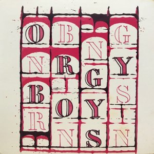 Brion Gysin / Orgy Boys (LP)