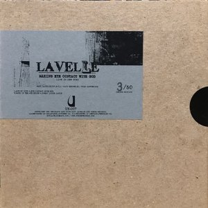 Matt Lavelle / Making Eye Contact With God (CD-R)