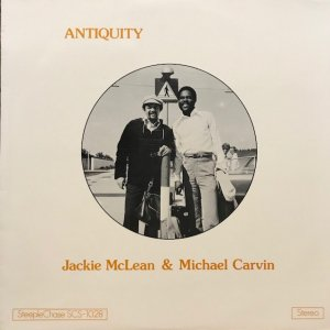 Jackie McLean & Michael Carvin / Antiquity (LP)
