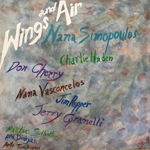 Nana Simopoulos / Wings And Air (LP)
