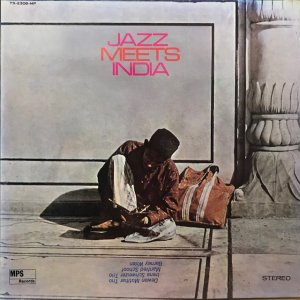 Irène Schweizer Trio, etc. / Jazz Meets India (LP)