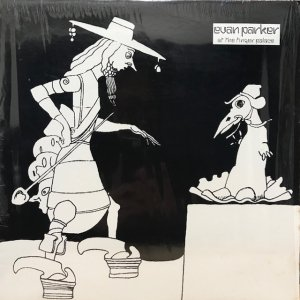Evan Parker / At The Finger Palace (LP)