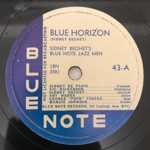 Sidney Bechet / Blue Horizon/Muskrat Ramble (SP)