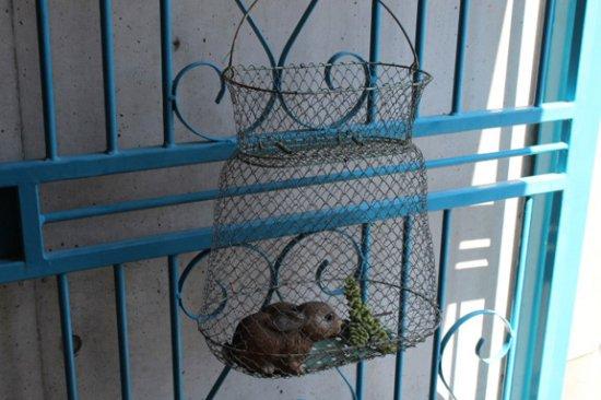 フランス MAILLINOX アイアンかご 魚籠