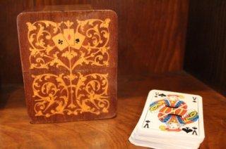 象嵌 カードケース トランプ
